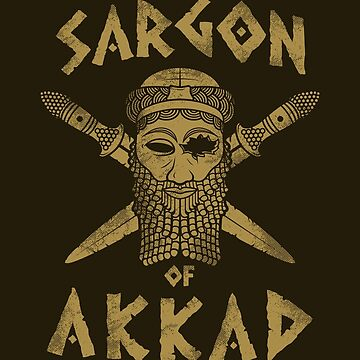 Sargon of Akkad - gold by HellFrog