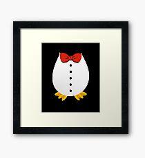 Penguin Tuxedo | penguin shirt | penguin gifts | penguin clothes | penguin accessories | penguin mug | penguin t shirt | pittsburgh penguins Framed Print