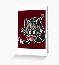Chicago Wolves Greeting Card