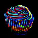 Neon Cupcake by Michael Moriarty