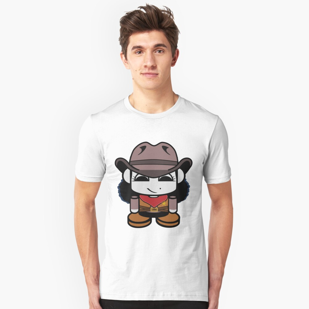 Cowgirl O'bot 1.0 Slim Fit T-Shirt