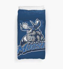 Manitoba moose gifts merchandise redbubble manitoba moose duvet cover negle Choice Image