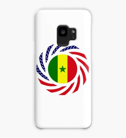 Senegalese American Multinational Patriot Flag Series Case/Skin for Samsung Galaxy