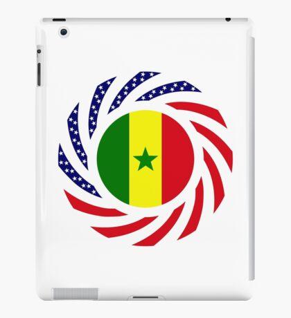 Senegalese American Multinational Patriot Flag Series iPad Case/Skin