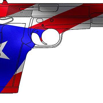 Puerto Rican Handgun by cstronner