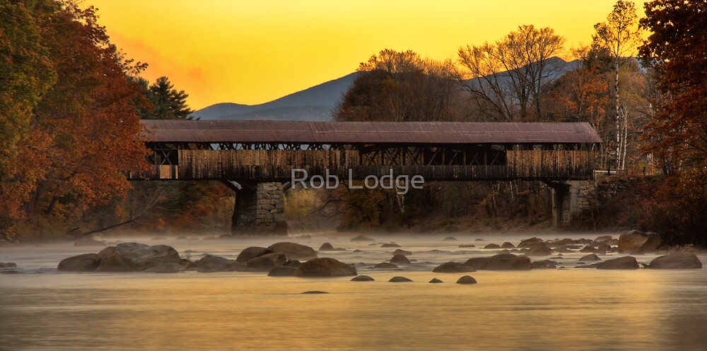 New Hampshire Sunrise by Rob Lodge