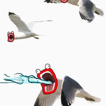 Lazer seagull by BonePit