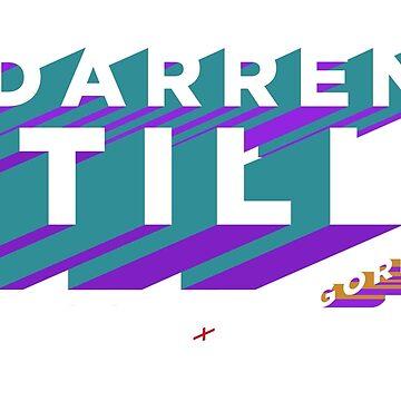 "Darren ""The Gorilla"" Till T-shirt Turq/Purp/Orange by Undeniable"