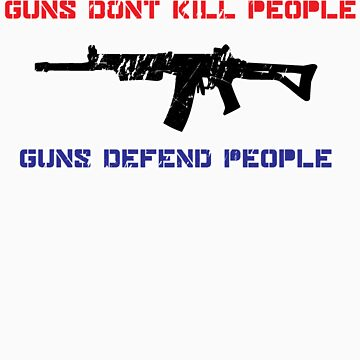 Guns Kill People by JamesHurrell