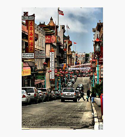 China Town - San Francisco Photographic Print
