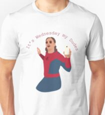 Camiseta unisex Es miércoles, mis amigos