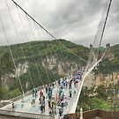 The Glass Bridge at Zhangjiajie by Michael Matthews