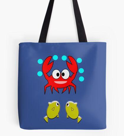 crab & 2 fish (7732 Views) Tote Bag