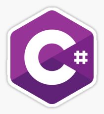 C# (C Sharp) Sticker