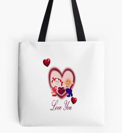 Love you ( 1210 Views) Tote Bag