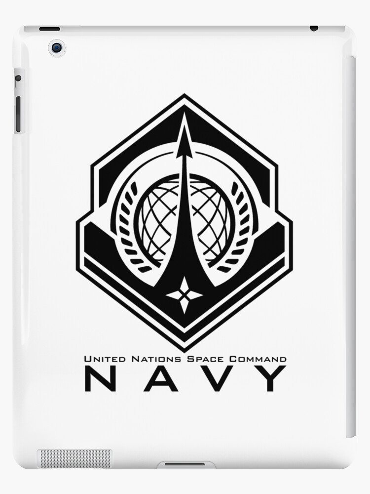 Halo Unsc Navy Insignia With Words Ipad Cases Skins By