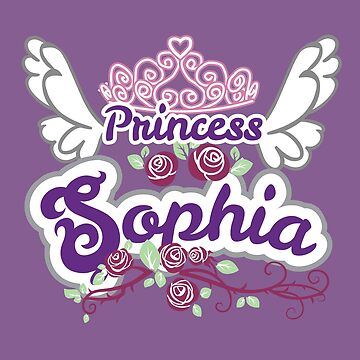Princess Sophia Name Gift, Personalized Kids Name Products by heavyhebi