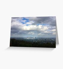 Brisbane in Light Greeting Card