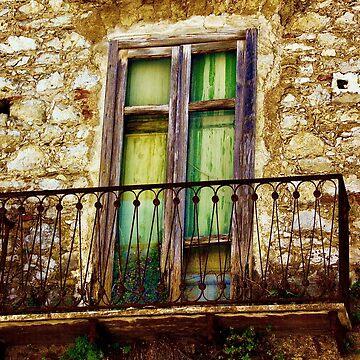 Weathered Balcony by lenzart