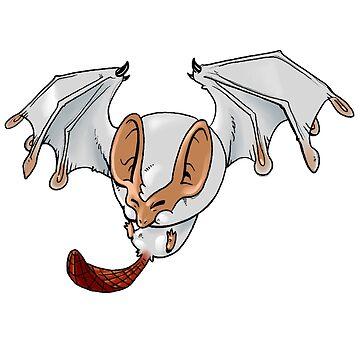 Hello Fluffy bat! by JosephLawn