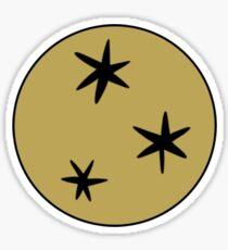 HP Stars Sticker
