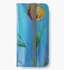 Tulips- Yellow iPhone Wallet/Case/Skin