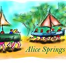 Alice Springs by David Fraser