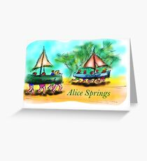 Alice Springs Greeting Card