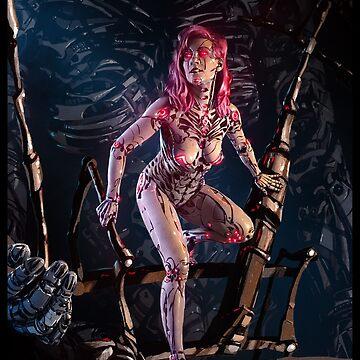 Cyberpunk Painting 091 by Sokoliwski