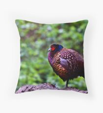 Having a minute.. Throw Pillow