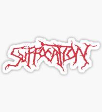 Suffocation Sticker