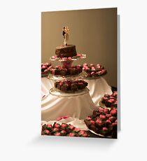 Brownie Cake Greeting Card