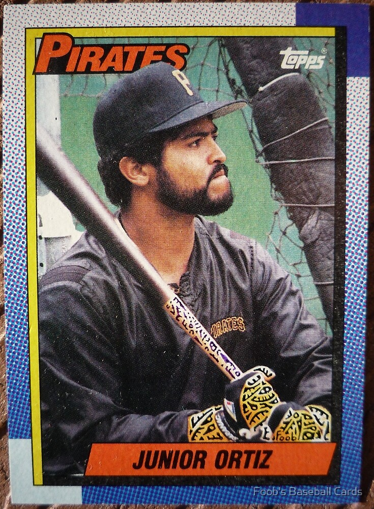 402 - Junior Ortiz by Foob's Baseball Cards