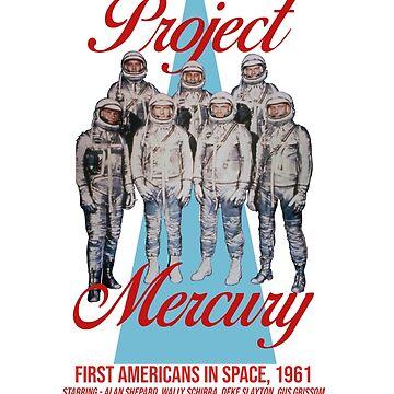 project mecury by KosmonautLaika