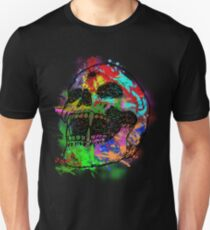 Colorful Skull Unisex T-Shirt