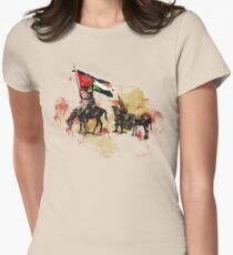 don quichote & sancho panza Womens Fitted T-Shirt