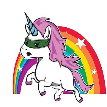 Magical Unicorn Rainbow by Nowhereman78