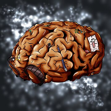 Self Portrait - Brain by Jkgaughan