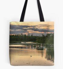 Sunset at Green Cay Tote Bag