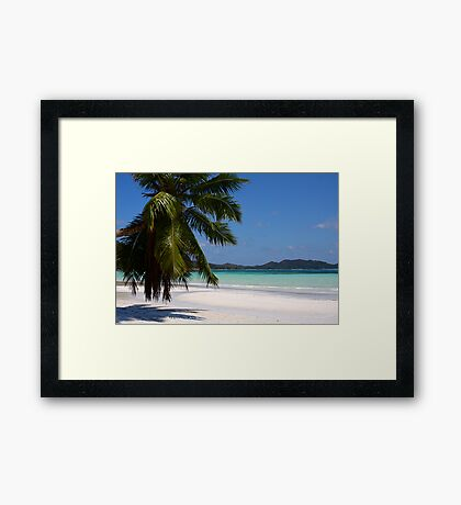 Cote d'Or Beach Framed Print