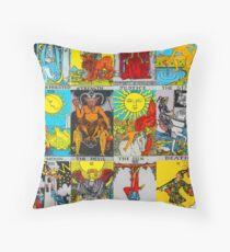 Tarot stickers Tarot Deck Tarot T shirts Throw Pillow