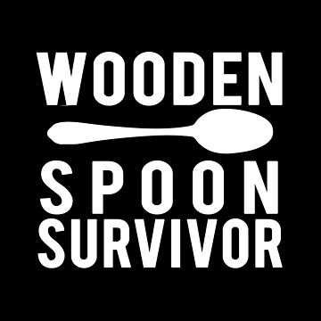 Wooden spoon survivor - White version by Kristofsche