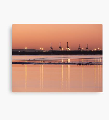Looking across the bay Canvas Print