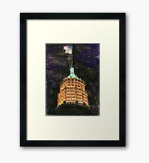 Tower Life Building San Antonio Tx Framed Print