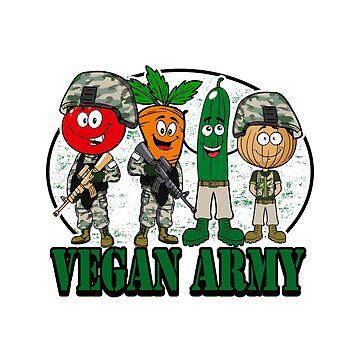 Vegan Army by Mojo23