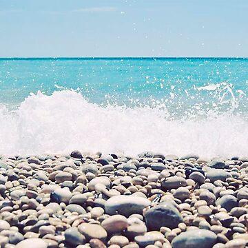 Stone beach by NoeliaUroz