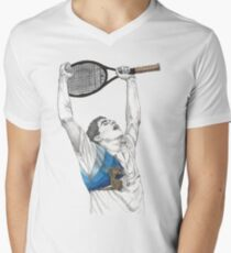 Tennis Sampras Men's V-Neck T-Shirt