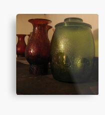 Cookie Jar & Lamp Shades Metal Print