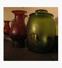 Cookie Jar & Lamp Shades Photographic Print