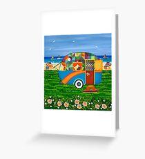 Wohnwagenurlaub ~ Bobby-Ray Grußkarte